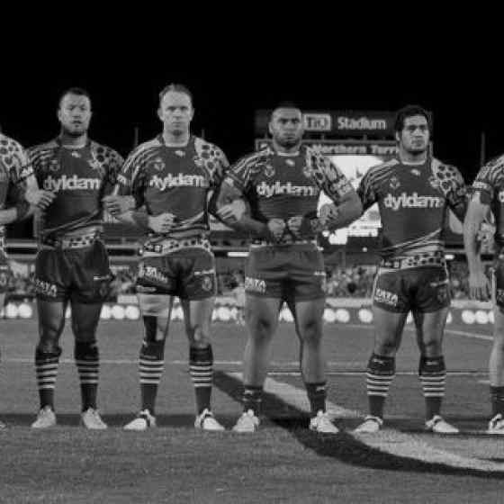 Parramatta Eels make a strong statement about stopping family violence