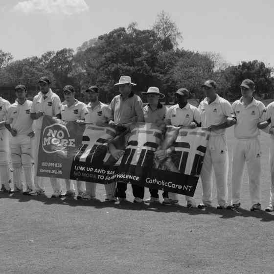 Darwin & Districts Cricket Competition Premier Grade Grand Final teams, Darwin CC and Waratah CC.