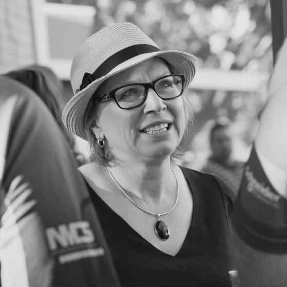 Australian of the Year Rosie Batty here in ‪#‎Darwin‬ to share her story. Sportspeople can help change the culture ‪#‎nomore‬ ‪#‎breakthecycle‬ Luke Batty Foundation