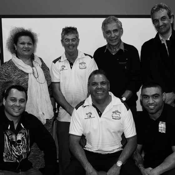 Retired NRL players land support to the program.