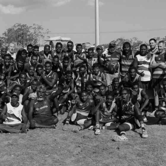 Wadeye Crows Grand Final Team.