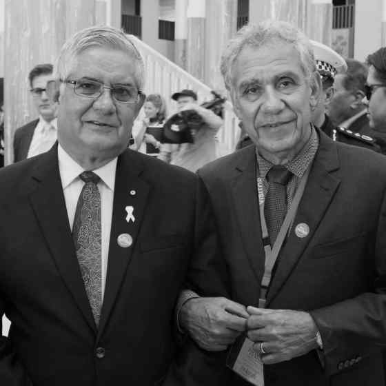NO MORE Campaign Founder Charlie King links up with Hon Ken Wyatt AM, MP.