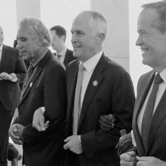 Bipartisan support for the NO MORE Campaign was shown when Malcolm Turnbull and Bill Shorten linked up to say NO MORE to family violence.