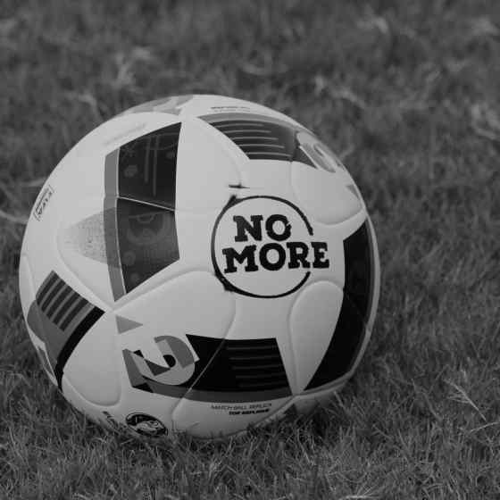 All games were played with the NO MORE Campaign branded balls.