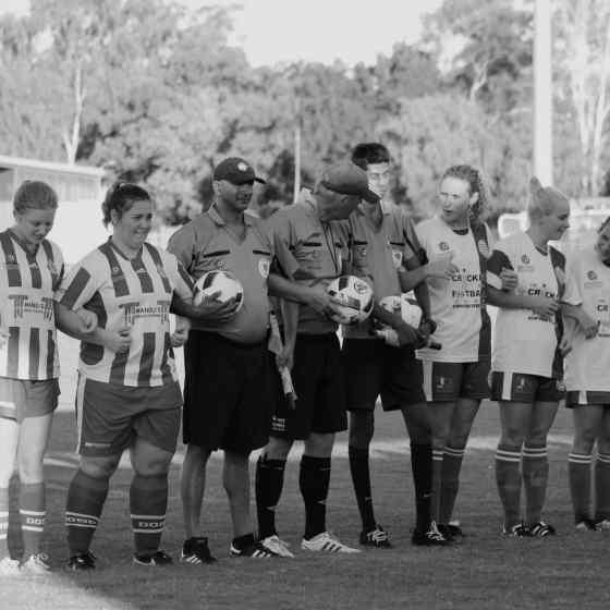 The women's match Darwin Olympic vs Hellenic Athletic.