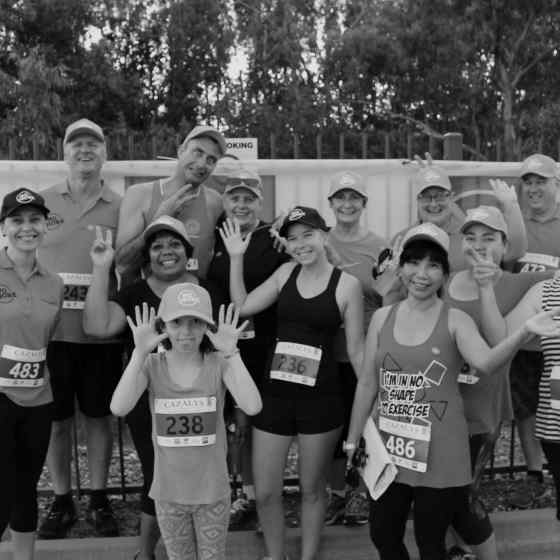 CatholicCare NT NO MORE team of runners and walkers.