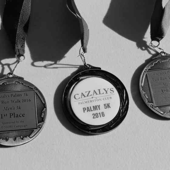 Medals sponsored by the NO MORE Campaign.