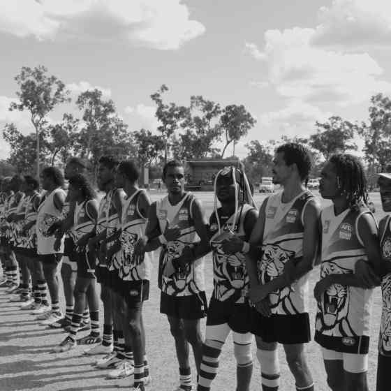 Tigers link up to say NO MORE to family violence.