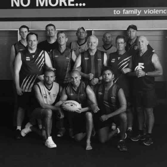 Thanks to these great men for taking part in the very first NO MORE Family Violence ad.