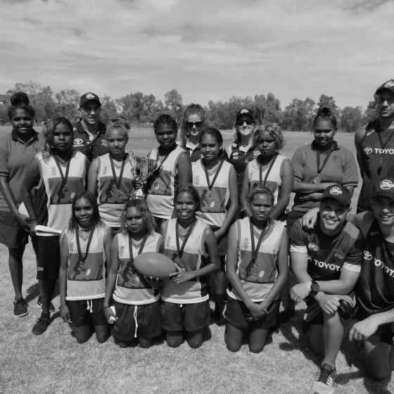 Yirara College won the girls Grand Final match.