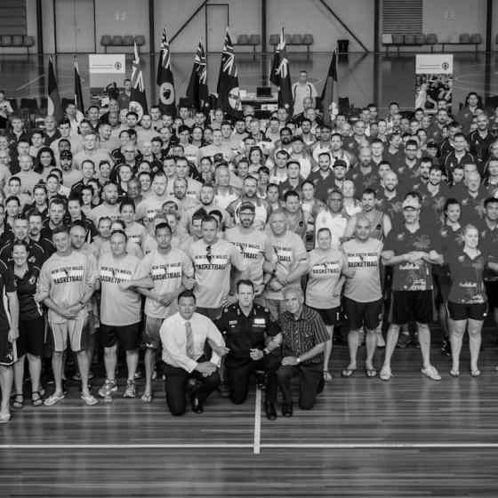 Police from all states and territories across Australia and New Zealand link up and say NO MORE to family and domestic violence.