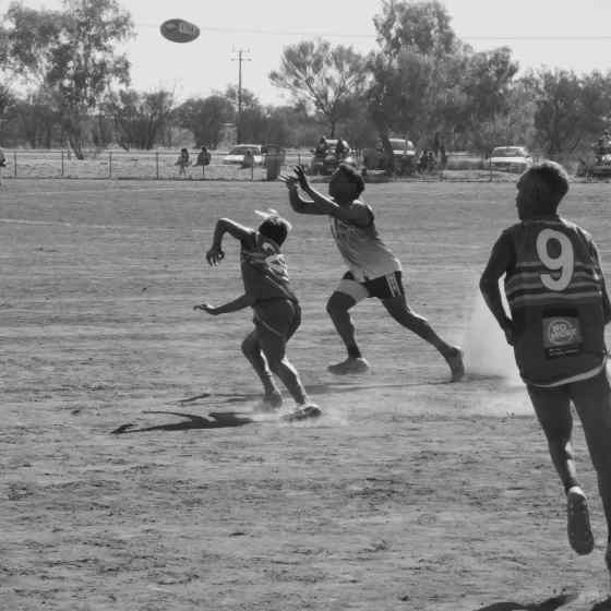 Ti Tree Roosters in action on the field.