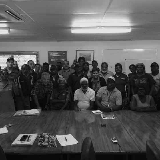Local service providers met in Wurrumiyanga to discuss how the Tiwi people can work in collaboration to reduce family violence.