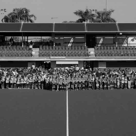 365 people from the Darwin hockey family link up to say NO MORE to family violence.